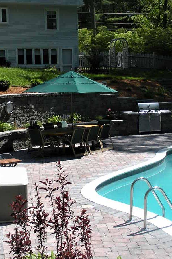 Pool decks and masonry