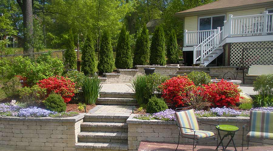 Retaining Walls Hardscapes Boston Ma Courtyard Concepts - small retaining wall design